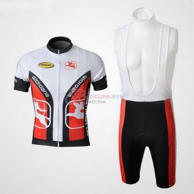 Giordana Cycling Jersey Kit Short Sleeve 2010 White And Black