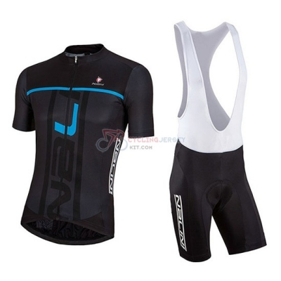 2018 Nalini Cycling Jersey Kit Short Sleeve Black and Blue