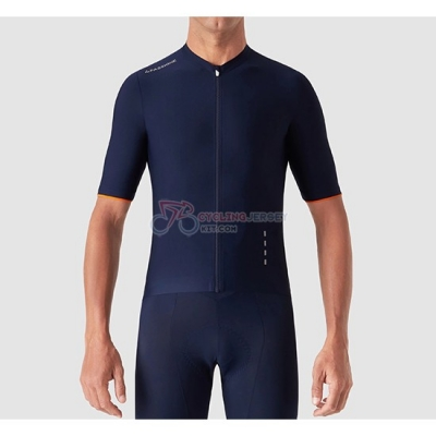La Passione Cycling Jersey Kit Short Sleeve 2019 Blue White