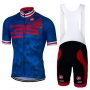 Castelli Cycling Jersey Kit Short Sleeve 2017 blue and red