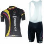 Colombia Cycling Jersey Kit Short Sleeve 2017 white