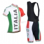 Italia Cycling Jersey Kit Short Sleeve 2021 Red Green