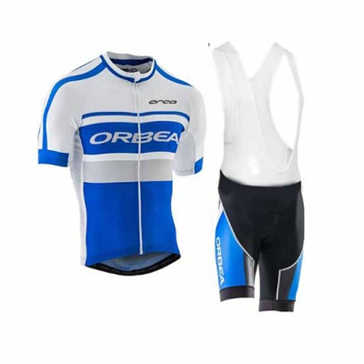 Oebea Cycling Jersey Kit Short Sleeve 2017 black and blue