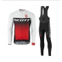 Scott Cycling Jersey Kit Long Sleeve 2017 black and white