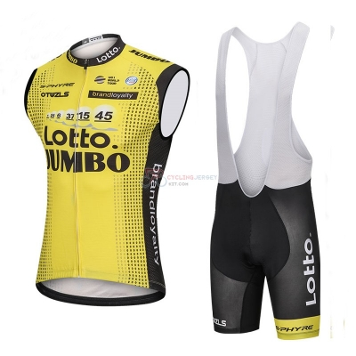 Wind Vest 2018 Lotto Nl Jumbo Yellow