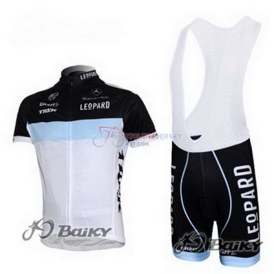 Lampre Cycling Jersey Kit Short Sleeve 2012 Black And White