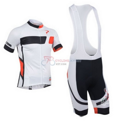 Pinarello Cycling Jersey Kit Short Sleeve 2013 Black And White