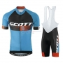 Scott Cycling Jersey Kit Short Sleeve 2015 Black And Blue