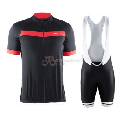 Craft Cycling Jersey Kit Short Sleeve 2016 Black And Red