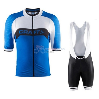 Craft Cycling Jersey Kit Short Sleeve 2016 Blue And White