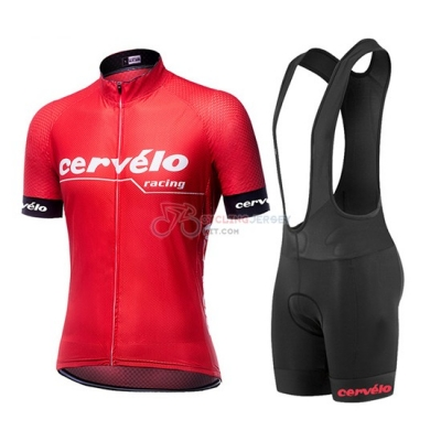 Cervelo Cycling Jersey Kit Short Sleeve 2019 Red