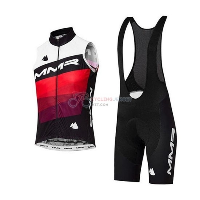 Wind Vest MMR 2020 White Black Red