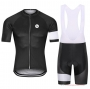 Steep Cycling Jersey Kit Short Sleeve 2021 Black