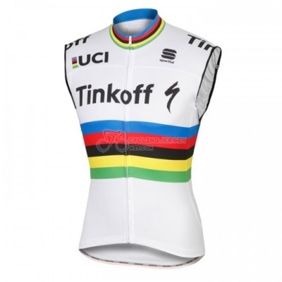 Tinkoff Wind Vest 2016 White And Red