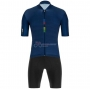 UCI Cycling Jersey Kit Short Sleeve 2020 Deep Blue