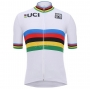 UCI Cycling Jersey Kit Short Sleeve 2020 White Multicoloured(1)