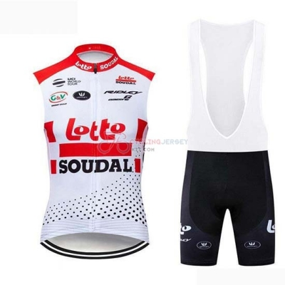 Wind Vest 2019 Lotto Soudal White Red