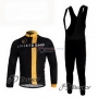 Livestrong Cycling Jersey Kit Long Sleeve 2011 Black And Yellow