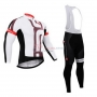 Castelli Cycling Jersey Kit Long Sleeve 2015 Red And White