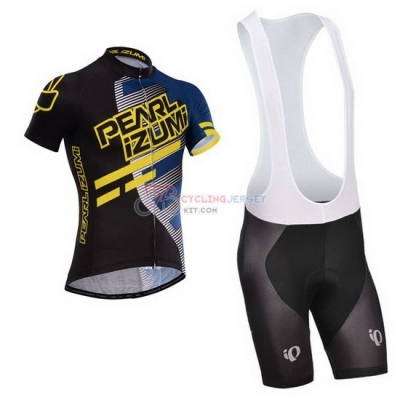 Pearl Izumi Cycling Jersey Kit Short Sleeve 2014 Black And Blue