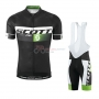 Scott Cycling Jersey Kit Short Sleeve 2016 Black And Green