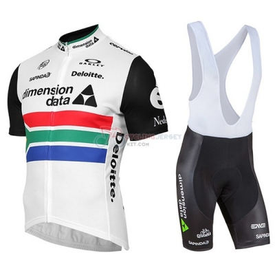 Dimension Data Cycling Jersey Kit Short Sleeve 2019 Campione Sudafrica
