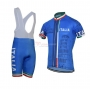 Italia Cycling Jersey Kit Short Sleeve 2021 Blue