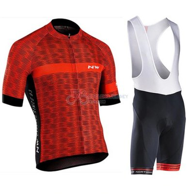 Northwave Cycling Jersey Kit Short Sleeve 2019 Red