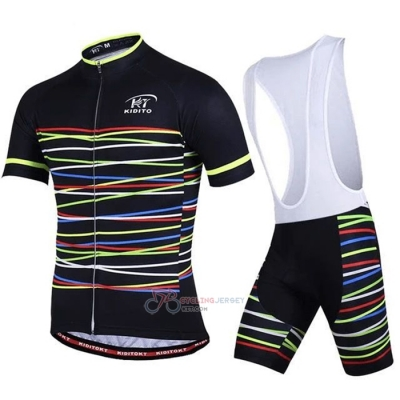 Ripple Cycling Jersey Kit Short Sleeve 2020 Black Yellow