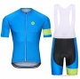 Steep Cycling Jersey Kit Short Sleeve 2021 Blue Green