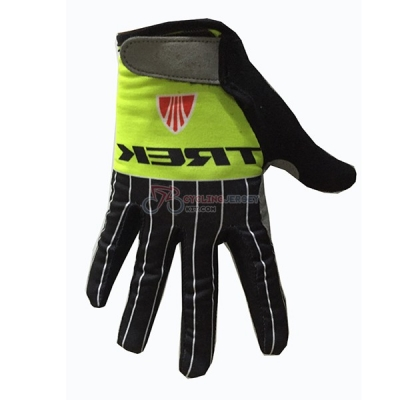 Trek Long Finger Gloves green 2017