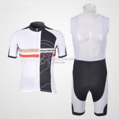 Giordana Cycling Jersey Kit Short Sleeve 2011 Black And White