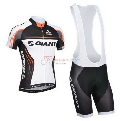 Giant Cycling Jersey Kit Short Sleeve 2014 White And Black