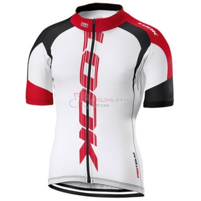 Look Cycling Jersey Kit Short Sleeve 2016 White And Red