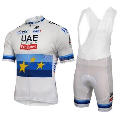 2018 UCI World Champion Leader Uae Cycling Jersey Kit Short Sleeve Lite  White 7d7d0335e