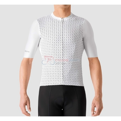 La Passione Cycling Jersey Kit Short Sleeve 2019 White