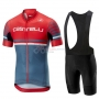 Castelli Free AR 4.1 Cycling Jersey Kit Short Sleeve 2019 Red Gray
