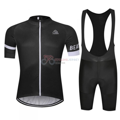 Chomir Cycling Jersey Kit Short Sleeve 2019 Black
