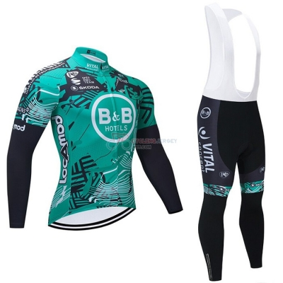 Concept-bb Hotels Cycling Jersey Kit Long Sleeve 2021 Green