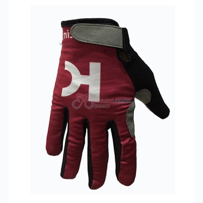 Katusha Alpecin Long Finger Gloves 2017