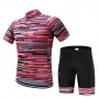 Rarrot Cycling Jersey Kit Short Sleeve 2020 Red