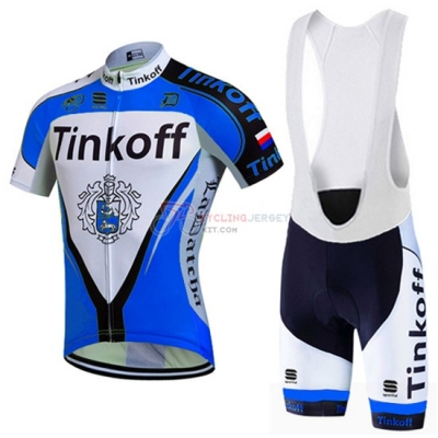 Tinkoff Cycling Jersey Kit Long Sleeve 2016 Blue And Black