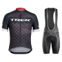 Trek Cycling Jersey Kit Short Sleeve 2016 Black