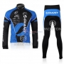 Giant Cycling Jersey Kit Long Sleeve 2010 Black And Blue