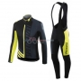 Specialized Cycling Jersey Kit Long Sleeve 2016 Black And Yellow
