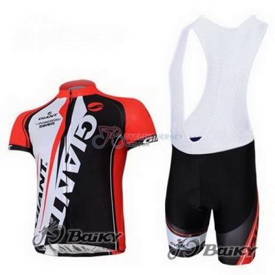 Giant Cycling Jersey Kit Short Sleeve 2011 Red And Black