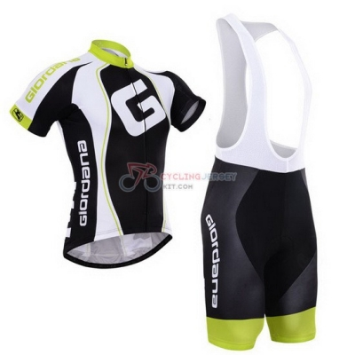 Giordana Cycling Jersey Kit Short Sleeve 2015 Black And White