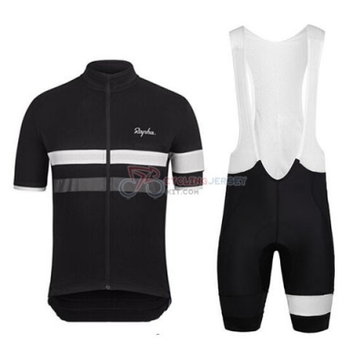 Rapha Cycling Jersey Kit Short Sleeve 2015 Black And White