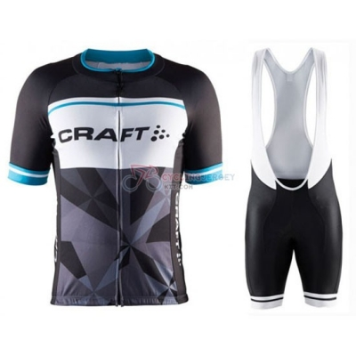 Craft Cycling Jersey Kit Short Sleeve 2016 Blue And Black