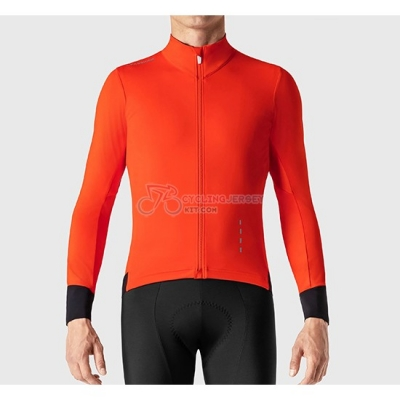 La Passione Cycling Jersey Kit Long Sleeve 2019 Red Black